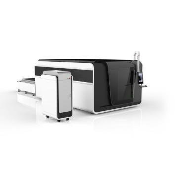 Máquina de corte a laser de fibra para aço metálico