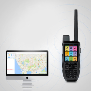 Cep Telefonu GPS tracker Walkie Talkie