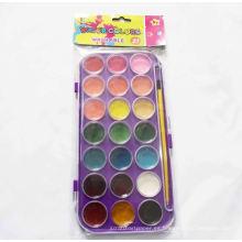 pintura fácil de color, pluma de color de agua, pintura de color de agua