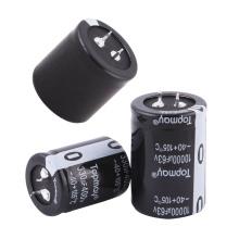 Pressão popular de Etopmay no capacitor eletrolítico de alumínio terminal 330UF 200V Tmce18 para o PC