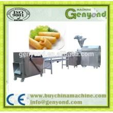 Linha de produção automática de rolo de mola frita