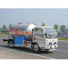 Dongfeng Mini 4 * 2 Caminhão-tanque de GLP, china novas fábricas de caminhão de tanque de GLP