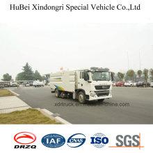 12cbm Компактный Sinotruck пылесос Road Sweeper Truck Euro 5