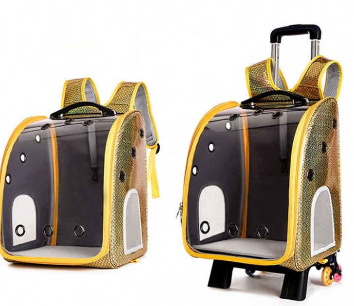 Big Space Folding Dog Backpack