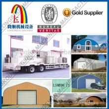Быстровозводимая металлическая крыша Листовая машина для формования холоднокатаных листов 1250-800