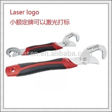 Good Quality Universal Wrench with Rubber Handle