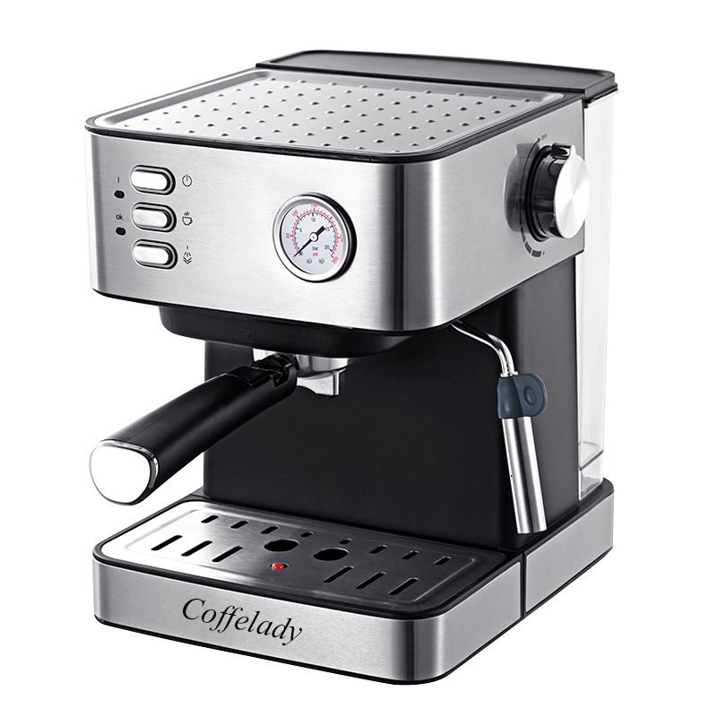 15bar Espresso Coffee machine with piezometer