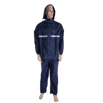 Reflective polyster Police Raincoat