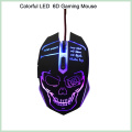 10% de desconto Cool Design Colorful 6D LED Wired Optical Gaming Mouse (M-65)