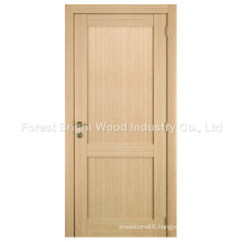 Oak Veneer Composit 2 Panel Stile and Rail Shaker Door