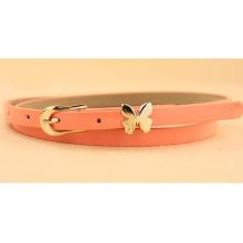 Fashion Woman waist PU thin belt