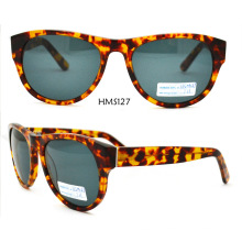 2016 Custom Logo Print Acetate Sunglasses (HMS127)