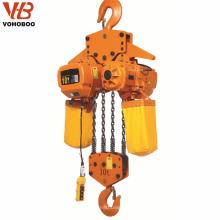 1 tonelada 2.5 toneladas 5 toneladas hgs-b alzamiento de cadena eléctrico 220 voltios precio alzamiento grúa 10 toneladas