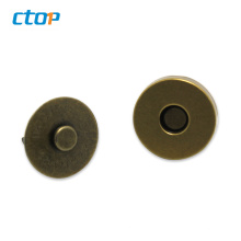 Hot selling high quality magnetic snap buttons for clothes leather buttons bag magnet button