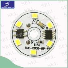 PCW de aluminio de 5W 7W 9W 12W LED con la iluminación