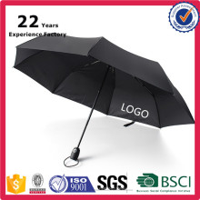 Promo Gift Seasonal Products Compact 3 Fold Unbreakable Open Close Own logo automatic umbrella