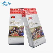 Made In China personalizado impresso mylar side gusset saco de chá de café folha de embalagem bolsa