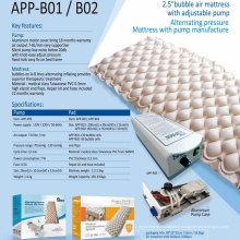 Matelas gonflable pour lit d'air à bulle médicale d'hôpital APP-B01