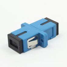 SC / PC Siglemode Adaptador de fibra óptica con brida