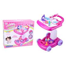 Plástico doutor brinquedos com carrinho de mão (h0844041)