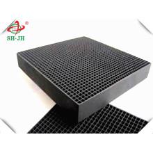 Hohe Qualität Koh Imprägniert Honeycomb Aktivkohle Hersteller Für Verkauf Entfernung H2s