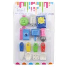 New Design 3D Cutlery Creative Eraser