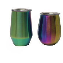 Hot selling stainless steel double wall wine tumbler,vacuum insulated wine mug