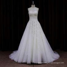 New Arriveal Sheer Lace Cathedral Train Wedding Dress 2013