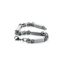 Free sample waterproof medical bracelets,stainless steel clasp bracelet