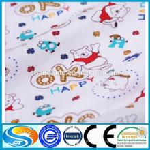 Camisa de franela de tela de franela de algodón al por mayor y manta de franela