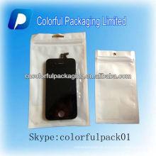 Tampa do telefone móvel, bolsa de folha reutilizável para mp3 e telemóvel e iPod