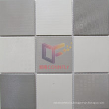 Grey and White Mixed Ceramic Bathroom Mosaic Tile (CST271)