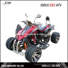 Kawasaki 250cc Quad CEE / Racing ATV com 14 polegadas de roda de liga de refrigeração a água do motor