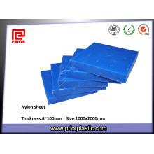 Feuille en nylon faite sur commande de nylon de polyamide PA6