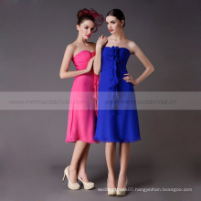 Wholesale short chiffon bridesmaid dress