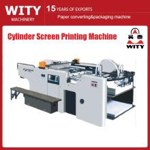 Máquina de impressão da tela do cilindro
