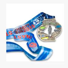 Manufacturer custom high quality metal 3D marathon sport medal