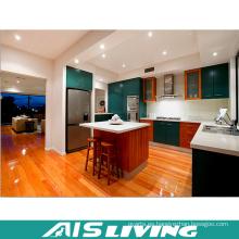 Muebles de gabinetes de cocina de madera modulares del estilo de la India (AIS-K369)