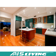 India Style Modular Wooden Kitchen Cabinets Furniture (AIS-K369)