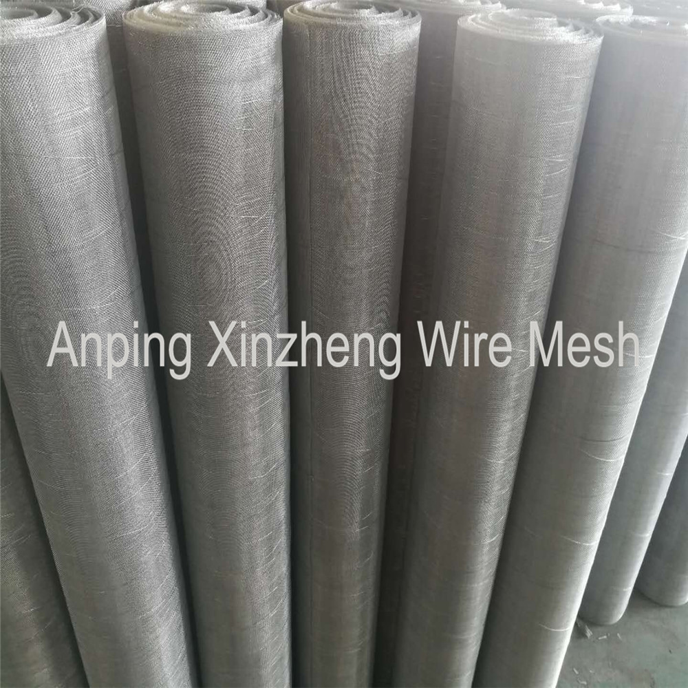 Plain Stainless Steel Wire Cloth