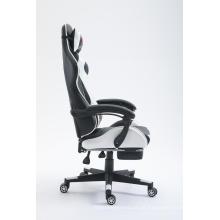 Cadeira para jogos PC Cadeira para jogos com apoio para os pés