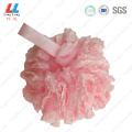 lace+mesh+shower+puff+luffa+bath+sponge