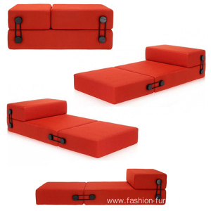 Folding Foam Sleeper Floor Trix Sofa Bed
