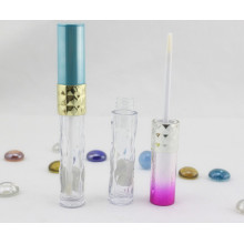 Exquisite Cylindrical Green Lip Gloss Container