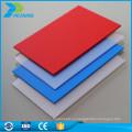 Легкий вес Китай оптовая продажа жесткого пластика поликарбоната тисненый лист Толя