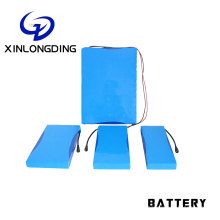XLD Factory rechargeable lithium ion batterie 18650 12s4p 44.4v 10ah battery pack