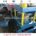 Maquinaria de formación de rollos de acero de canal C (AF-C80-300)