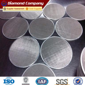 Chine fabricant de treillis métallique en acier inoxydable 316