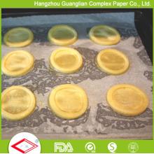 Papel de pergamino de grado alimenticio obsoleto para revestimiento de hoja de hornear