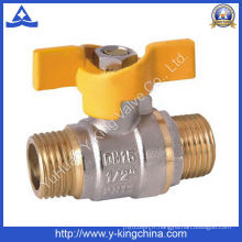 Vanne à eau en laiton utilisée dans l'eau (YD-1012)